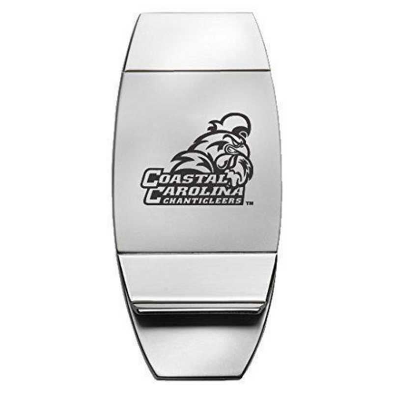 1145-COSTCAR-L1-LRG: LXG MONEY CLIP, Coastal Carolina