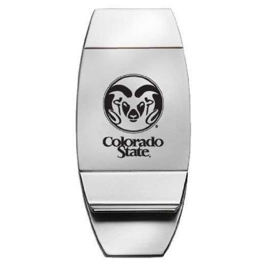 1145-CSU-L1-CLC: LXG MONEY CLIP, Colorado State