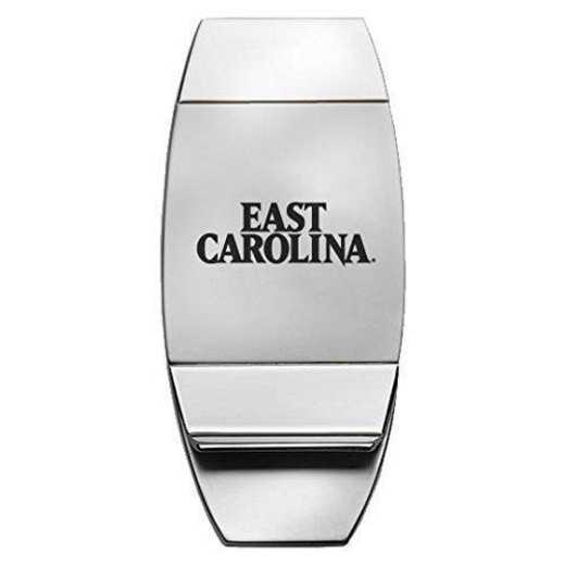 1145-EASTCAR-L1-CLC: LXG MONEY CLIP, East Carolina