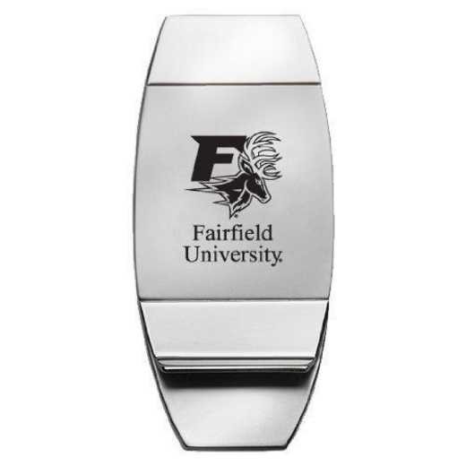 1145-FAIRFLD-L1-SMA: LXG MONEY CLIP, Fairfield University