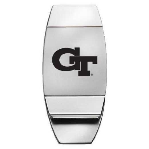 1145-GATECH-L1-CLC: LXG MONEY CLIP, Georgia Tech