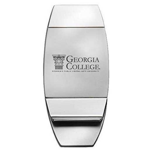 1145-GCSU-L1-IND: LXG MONEY CLIP, Georgia College