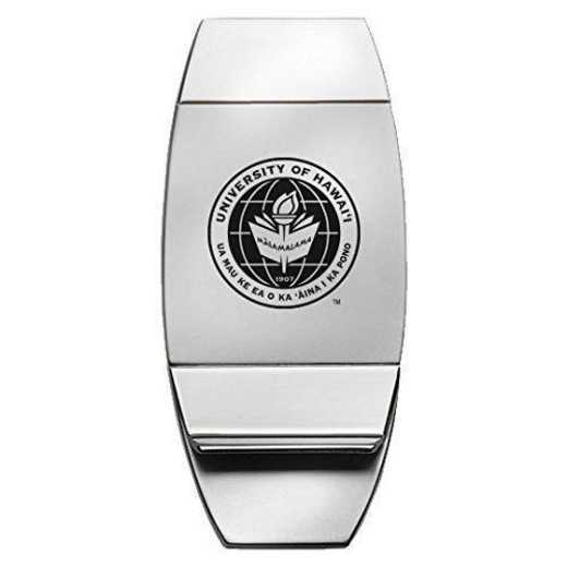 1145-HAWAII-L1-LRG: LXG MONEY CLIP, Hawaii