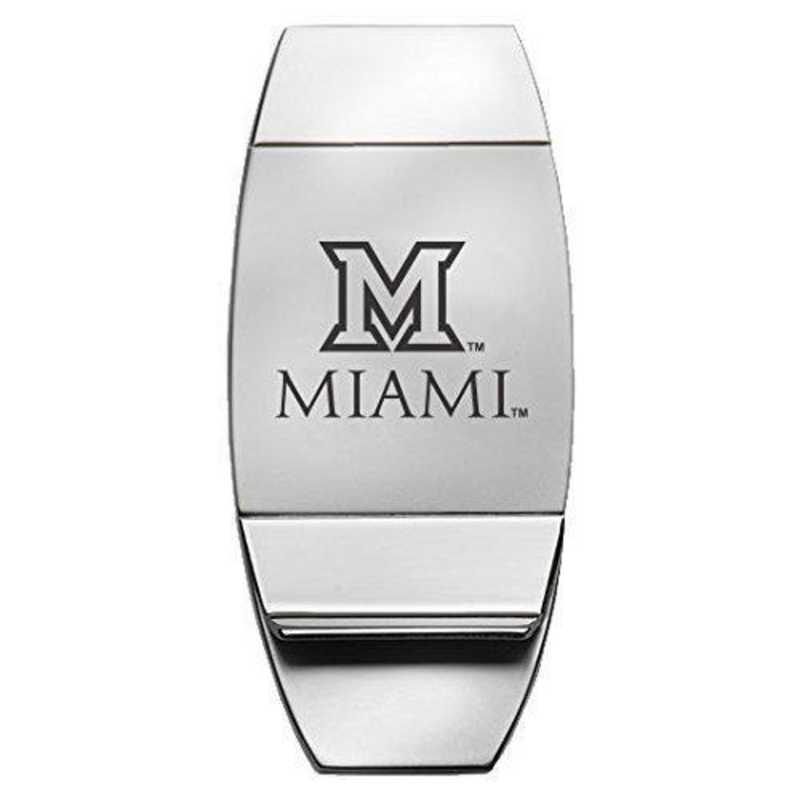 1145-MIAMIU-L1-LRG: LXG MONEY CLIP, Miami
