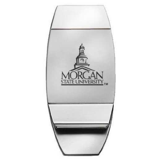 1145-MORGANST-L1-CLC: LXG MONEY CLIP, Morgan State
