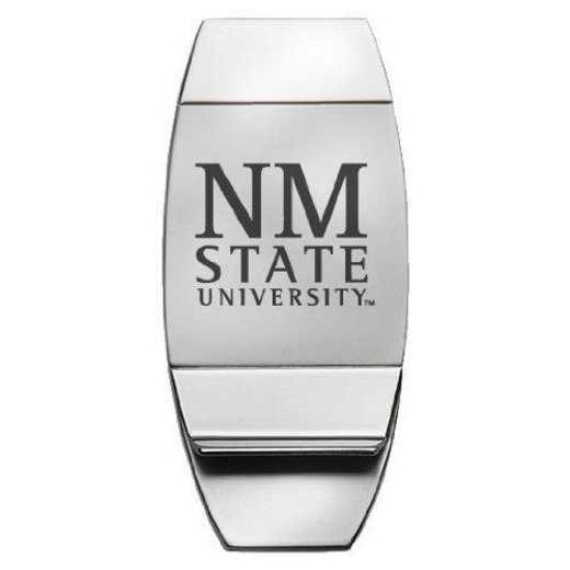 1145-NMEXST-L1-CLC: LXG MONEY CLIP, New Mexico State