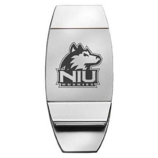 1145-NRTHIL-L1-LRG: LXG MONEY CLIP, Northern Illinois