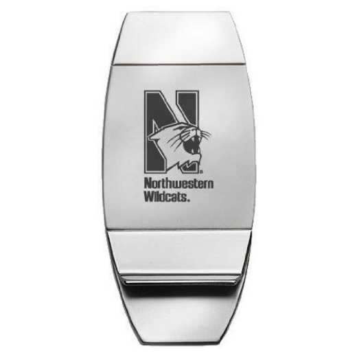 1145-NWESTRN-L1-CLC: LXG MONEY CLIP, Northwestern Univ