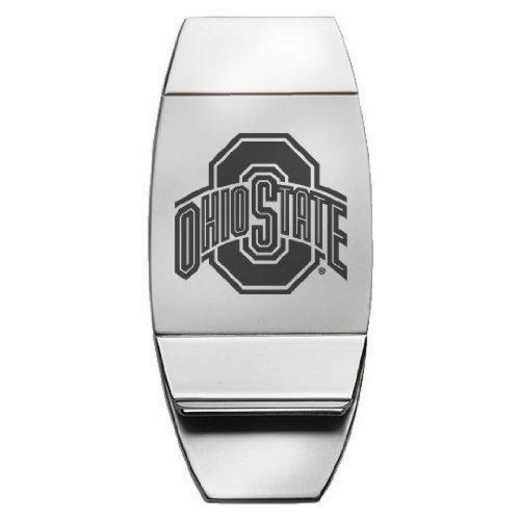 1145-OHIOST-L1-IND: LXG MONEY CLIP, Ohio State