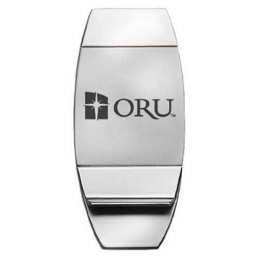 1145-ORALRBT-L1-LRG: LXG MONEY CLIP, Oral Roberts University