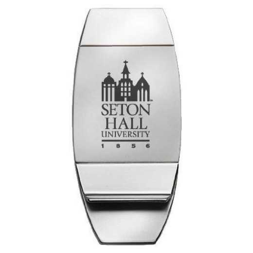1145-SETHALL-L1-LRG: LXG MONEY CLIP, Seton Hall University