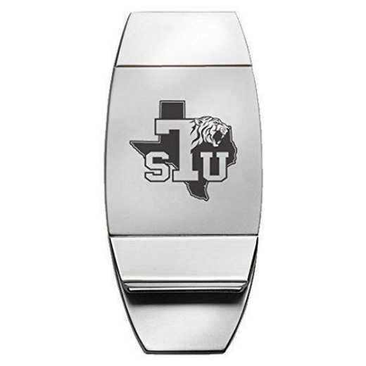 1145-TEXASTH-L1-IND: LXG MONEY CLIP, Texas Southern Univ