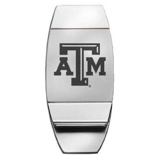 1145-TXA&M-L1-LRG: LXG MONEY CLIP, Texas A&M