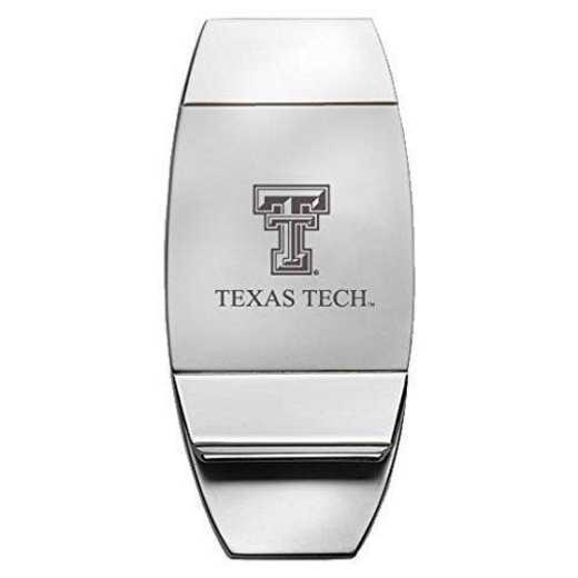 1145-TXTECH-RL1-CLC: LXG MONEY CLIP, Texas Tech