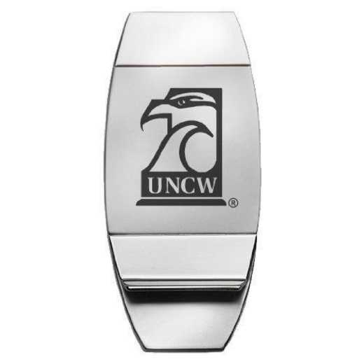 1145-UNCWILM-L1-LRG: LXG MONEY CLIP, UNC - Wilmington