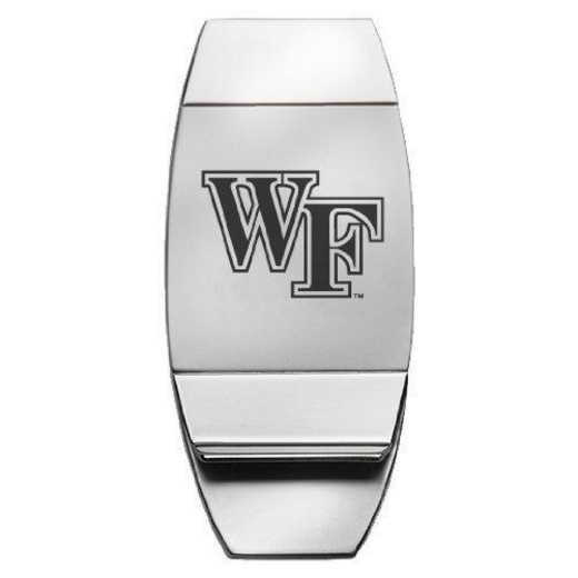 1145-WFU-L1-CLC: LXG MONEY CLIP, Wake Forest