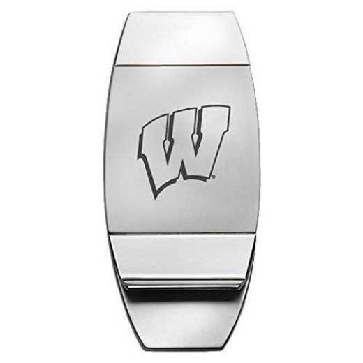 1145-WISCON-L1-CLC: LXG MONEY CLIP, Wisconsin