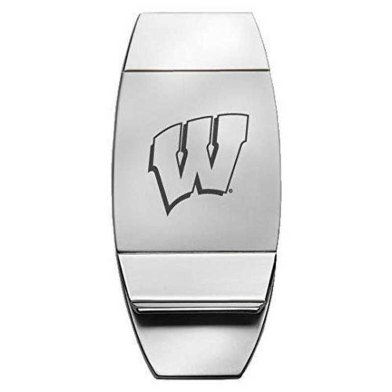 1145-WISCON-L1-: LXG MONEY CLIP, Wisconsin