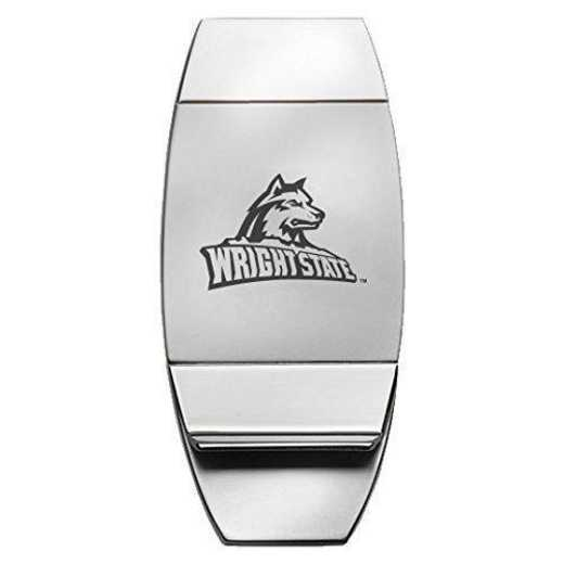 1145-WRGHTST-L1-LRG: LXG MONEY CLIP, Wright State