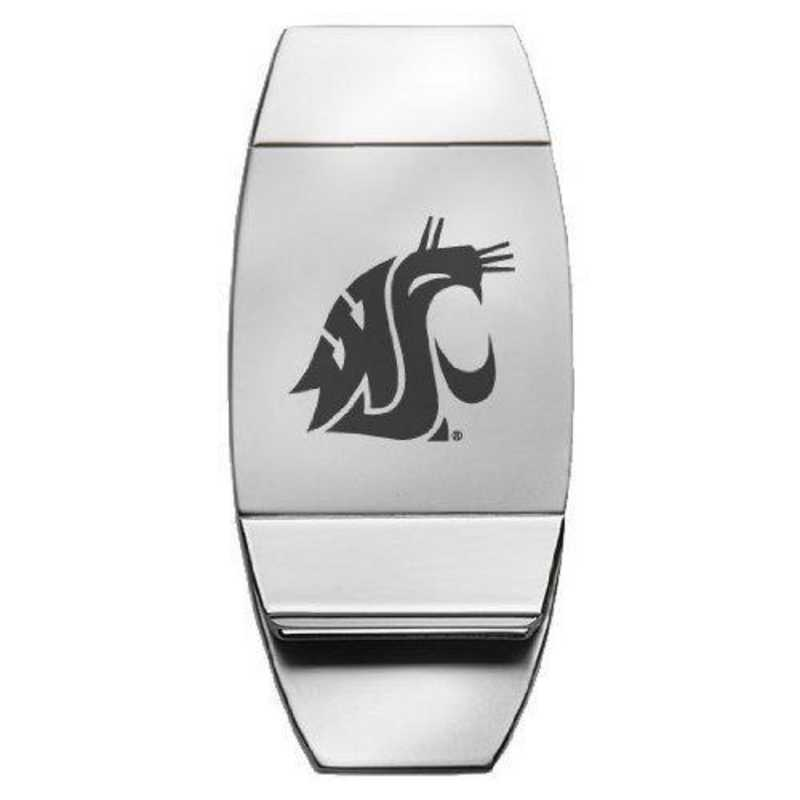 1145-WSU-L1-CLC: LXG MONEY CLIP, Washington State