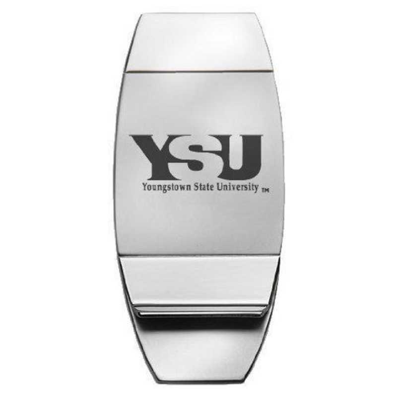 1145-YOUNGST-L1-LRG: LXG MONEY CLIP, Youngstown State