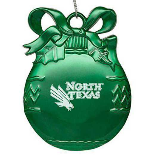 4022GRN-NORTHTX-L1-CLC: LXG BULB ORN GREEN, North Texas