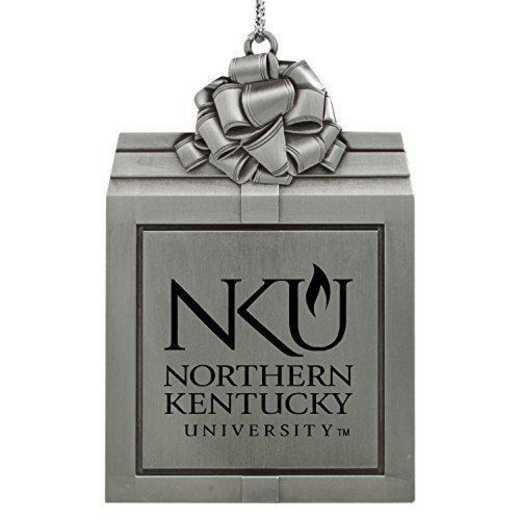 LXG Inc Northern Kentucky University Snowflake Ornament Pewter