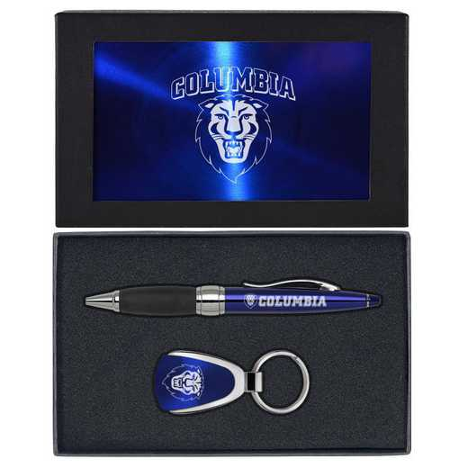 SET-A1-COLUMBIA-BLU: LXG Set A1 KC Pen, Columbia