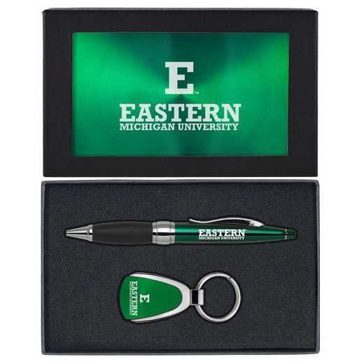 SET-A1-EASTMICH-GRN: LXG Set A1 KC Pen, Eastern Michigan