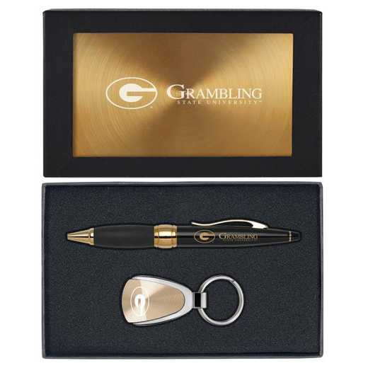 SET-A1-GRAMBST-GLD: LXG Set A1 KC Pen, Grambling State