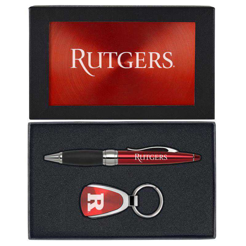 SET-A1-RUTGERS-RED: LXG Set A1 KC Pen, Rutgers