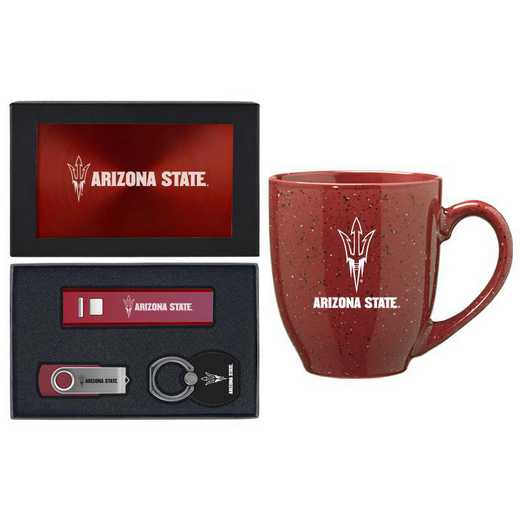 SET-A2-ASU-BUR: LXG Set A2 Tech Mug, Arizona State