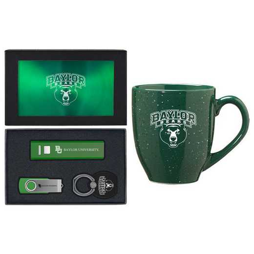 SET-A2-BAYLOR-GRN: LXG Set A2 Tech Mug, Baylor