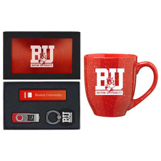 SET-A2-BOSTON-RED: LXG Set A2 Tech Mug, Boston University