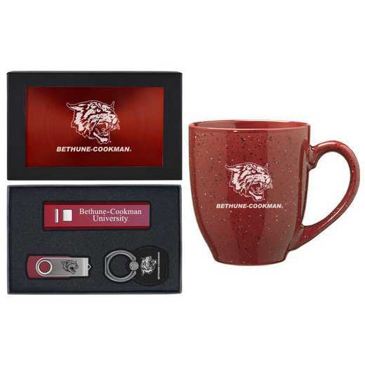 SET-A2-BTHUNCOOK-BUR: LXG Set A2 Tech Mug, Bethune-Cookman