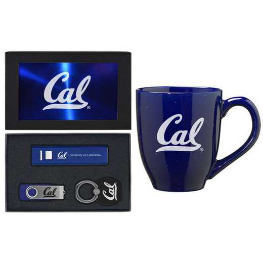 SET-A2-CALBERK-BLU: LXG Set A2 Tech Mug, California-Berkeley