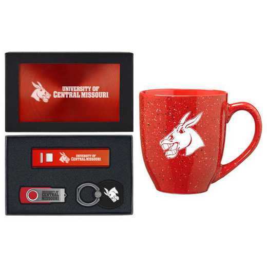 SET-A2-CMSU-RED: LXG Set A2 Tech Mug, Central Missouri