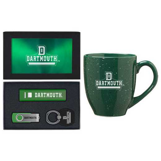 SET-A2-DARTMTH-GRN: LXG Set A2 Tech Mug, Dartmouth