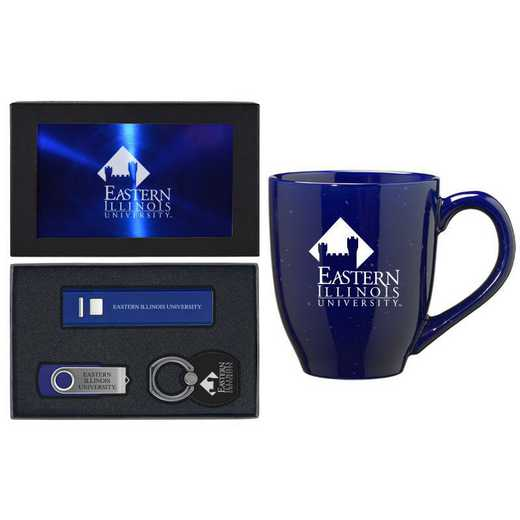 SET-A2-EASTIL-BLU: LXG Set A2 Tech Mug, Eastern Illinois