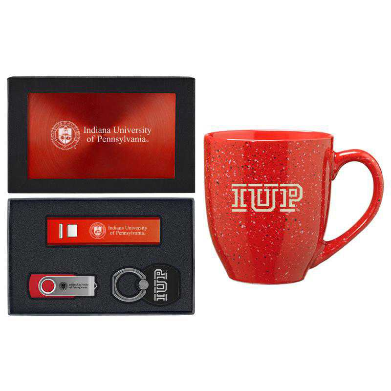SET-A2-IUP-RED: LXG Set A2 Tech Mug, Indiana of Pennsylvania
