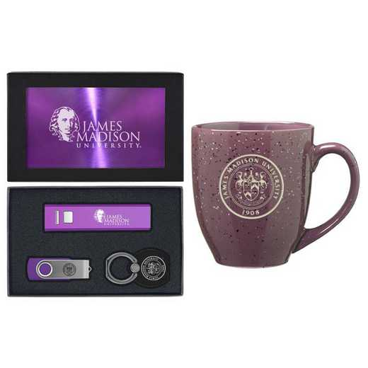 SET-A2-JAMSMAD-PURP: LXG Set A2 Tech Mug, James Madison