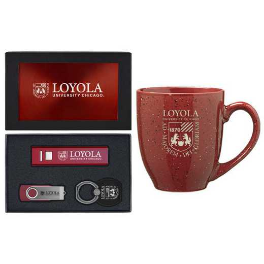 SET-A2-LYOLACHIC-BUR: LXG Set A2 Tech Mug, Loyola-Chicago