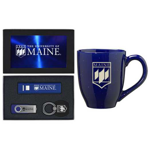 SET-A2-MAINE-BLU: LXG Set A2 Tech Mug, Maine