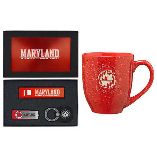 SET-A2-MARYLND-RED: LXG Set A2 Tech Mug, Maryland