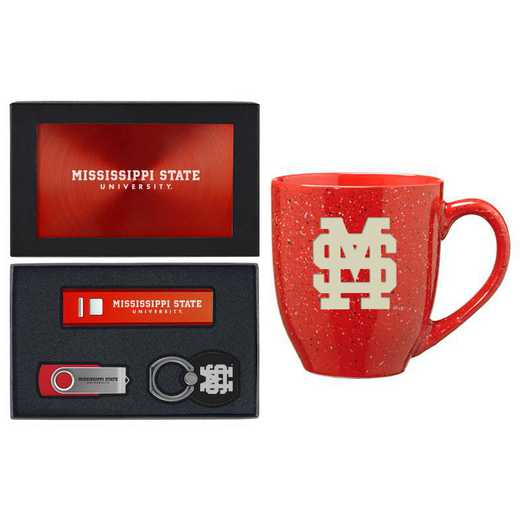 SET-A2-MISSIST-RED: LXG Set A2 Tech Mug, Mississippi State