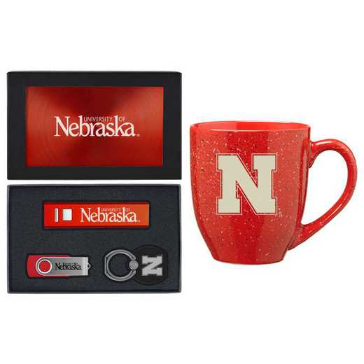 SET-A2-NEBRASK-RED: LXG Set A2 Tech Mug, Nebraska