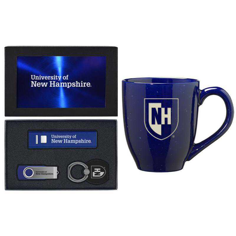 SET-A2-NEWHAMP-BLU: LXG Set A2 Tech Mug, New Hampshire