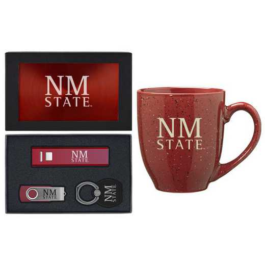 SET-A2-NMEXST-BUR: LXG Set A2 Tech Mug, New Mexico State