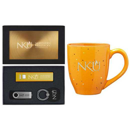 SET-A2-NTHKENT-GLD: LXG Set A2 Tech Mug, Northern Kentucky