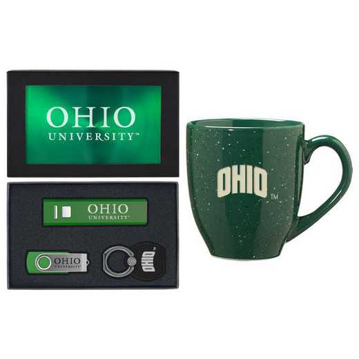 SET-A2-OHIOU-GRN: LXG Set A2 Tech Mug, Ohio